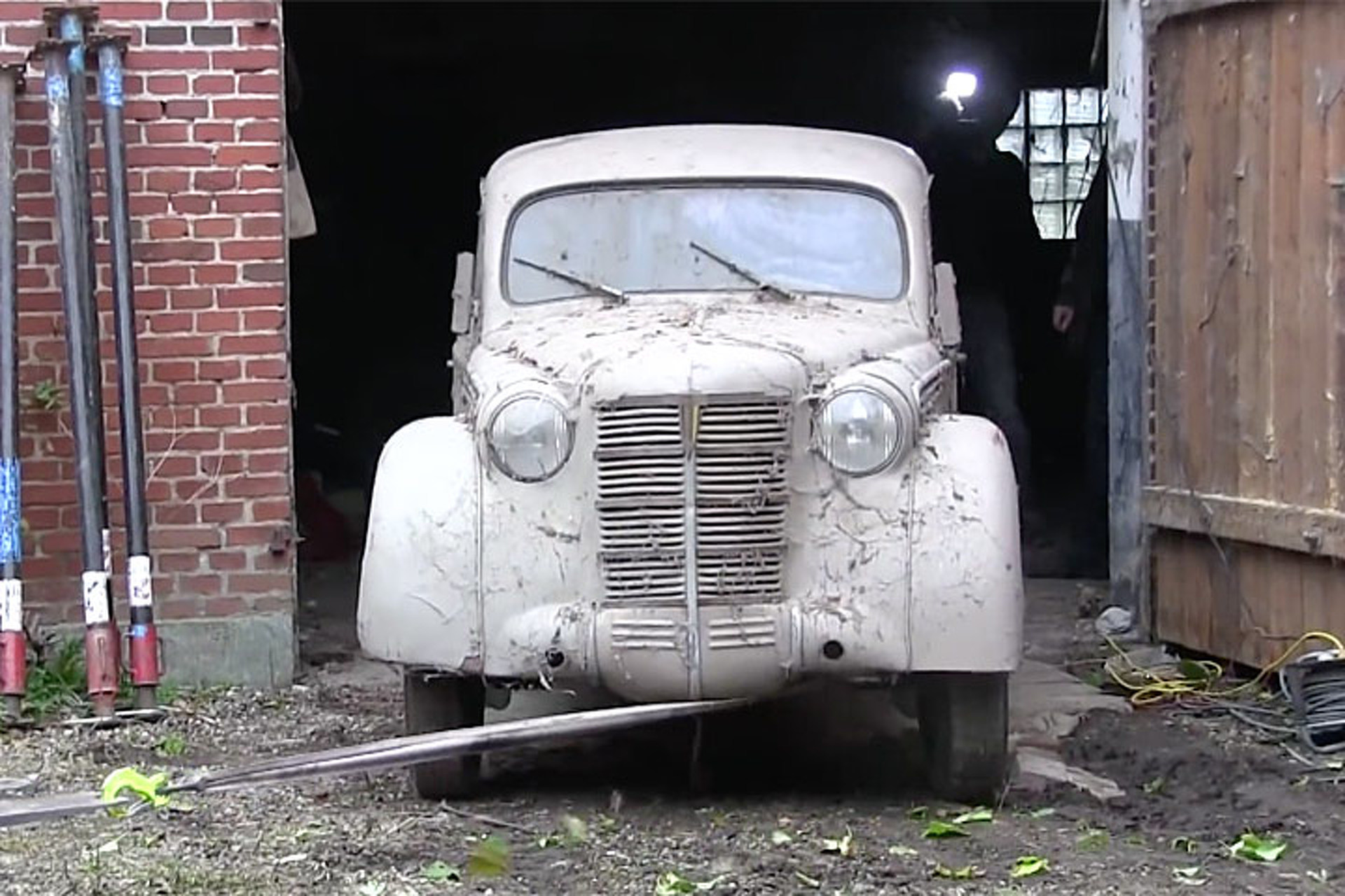 26 Classic Cars Are Unearthed from Danish Barn Find