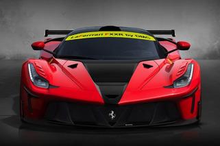 DMC Previews Sinister Ferrari LaFerrari FXXR