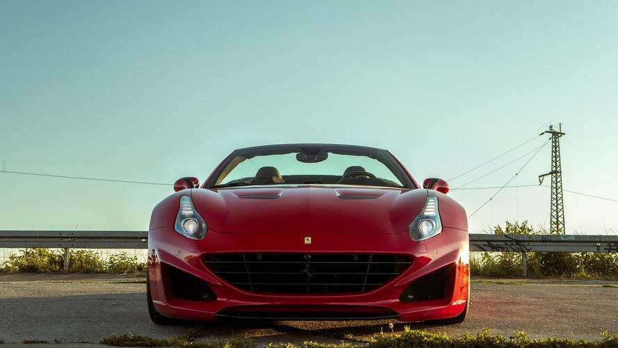 Novitec Rosso tunes the Ferrari California T