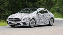 Mercedes-AMG A35 Sedan Spy Shots