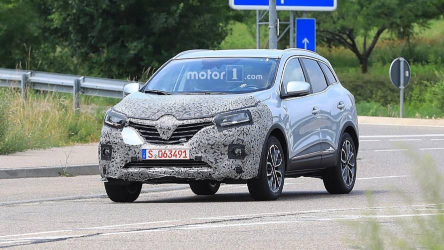Renault Kadjar restylé en photos espion