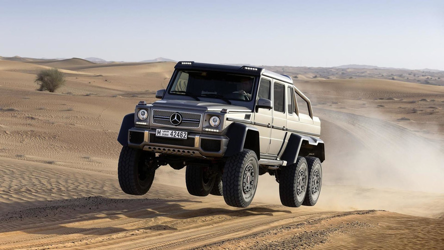Kei cars tremble in fear as the Mercedes G63 AMG 6×6 heads to Japan