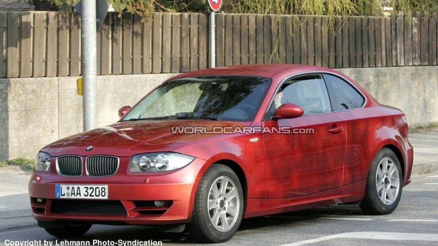 SPY PHOTOS: BMW 1 Series Coupe Best Photos Yet