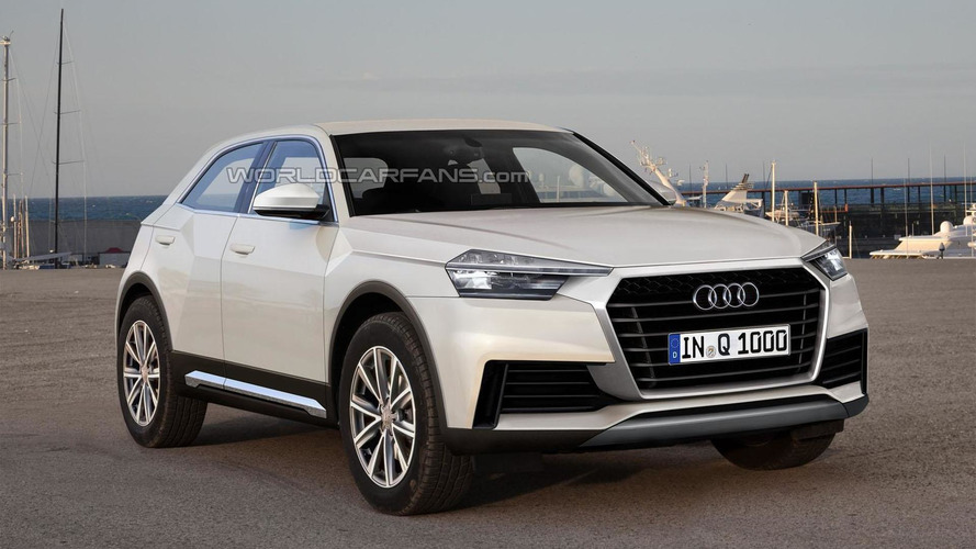 Audi Q Junior rumored to come out in 2019; based on the A1