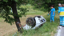 McLaren F1 crash in Italy