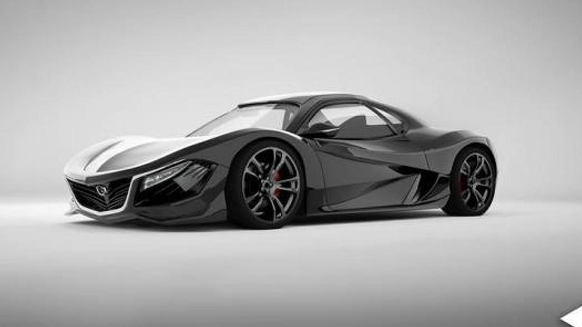 Rotary-powered 450 bhp Mazda RX-9 concept allegedly coming ...