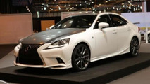 Lexus IS 25 Aniversario special edition introduced at Madrid Auto Show