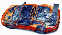 Chassis and drive assemblies of the 911 GT3 RS