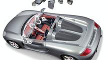 Carrera GT Bose hoparlör dağılımı