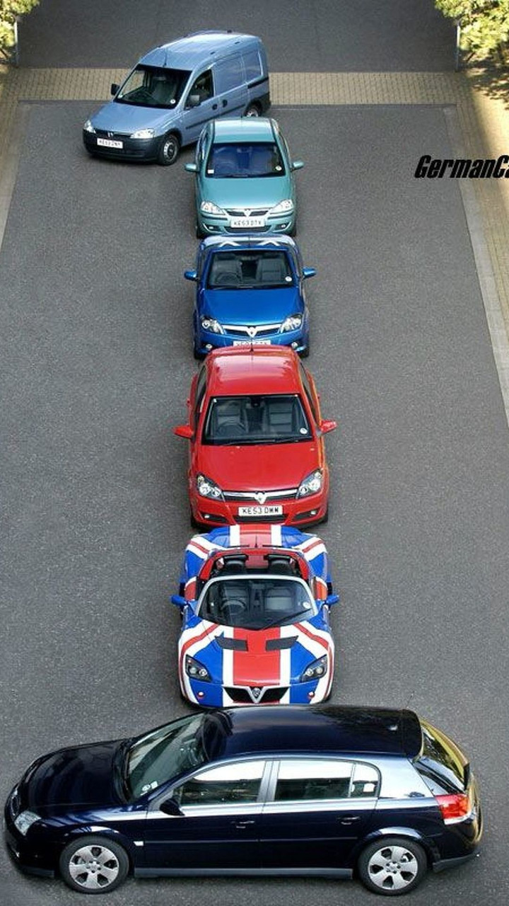 Vauxhall number 1 in UK sales charts