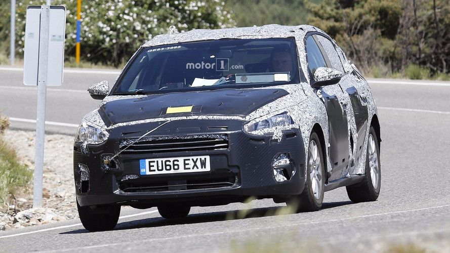 New 2018 Ford Focus Spied In Testing