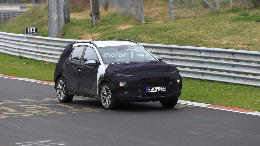 Hyundai Kona Spied Under Development On The Ring