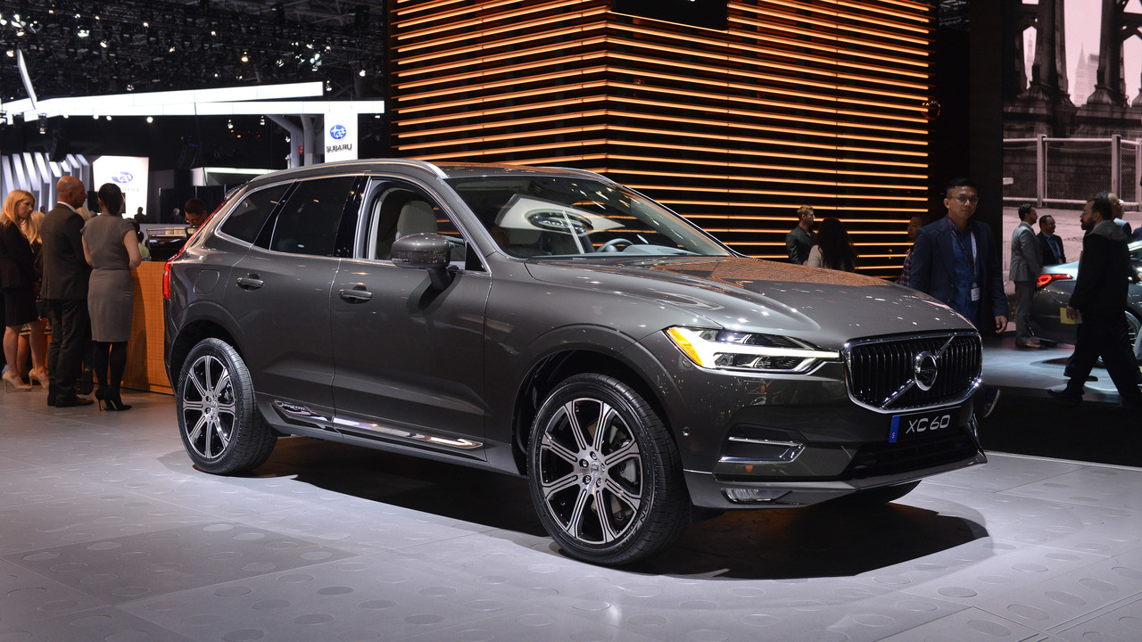 2018 volvo crossover. interesting 2018 2018 volvo xc60  new york 2017 on volvo crossover