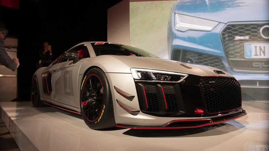 New York 2017 – Audi R8 LMS GT4, le rêve des pilotes amateurs
