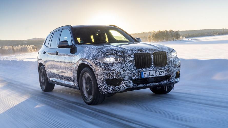 2018 BMW X3 teaser