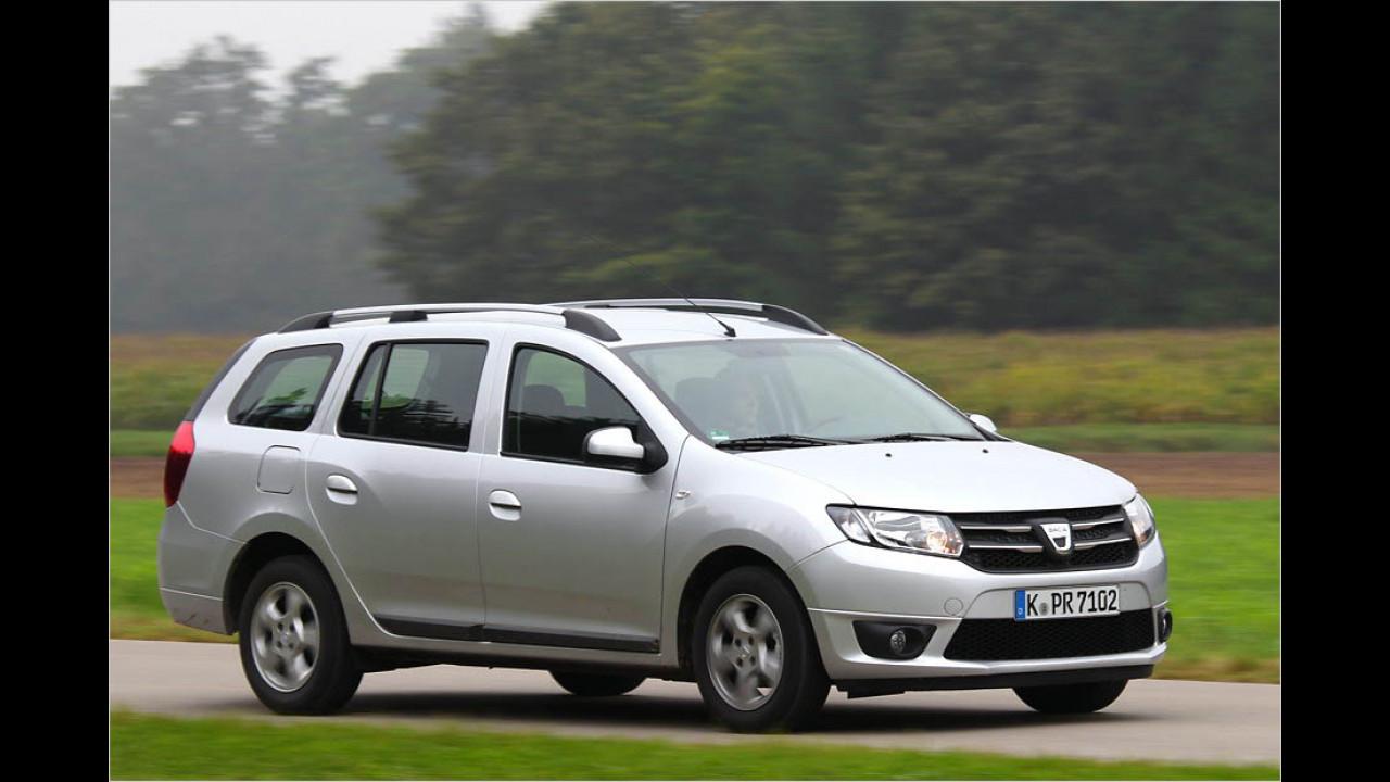 Die schlechtesten Autos bis 3 Jahre: Dacia Logan (MCV)