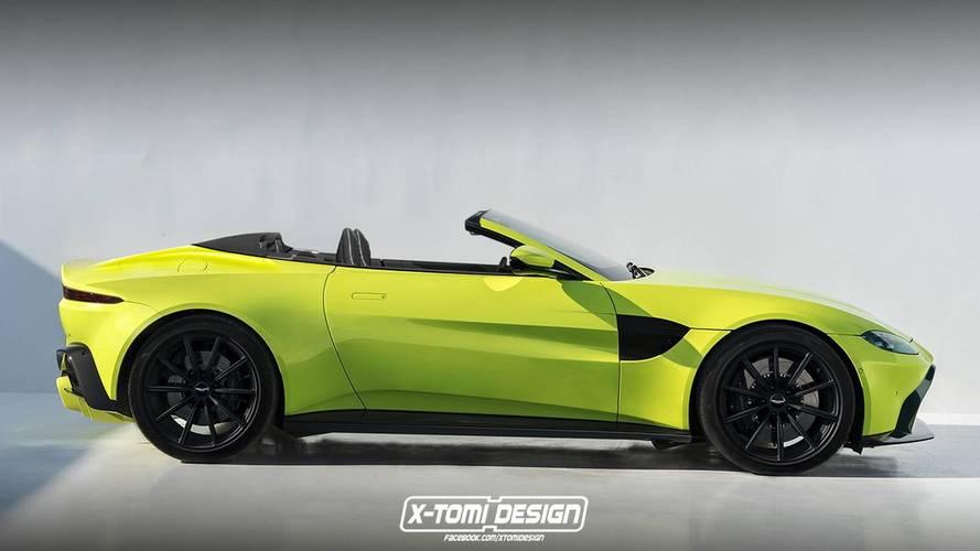 Design - L'Aston Martin Vantage déjà imaginée en cabriolet