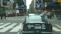 Great Race in Times Square