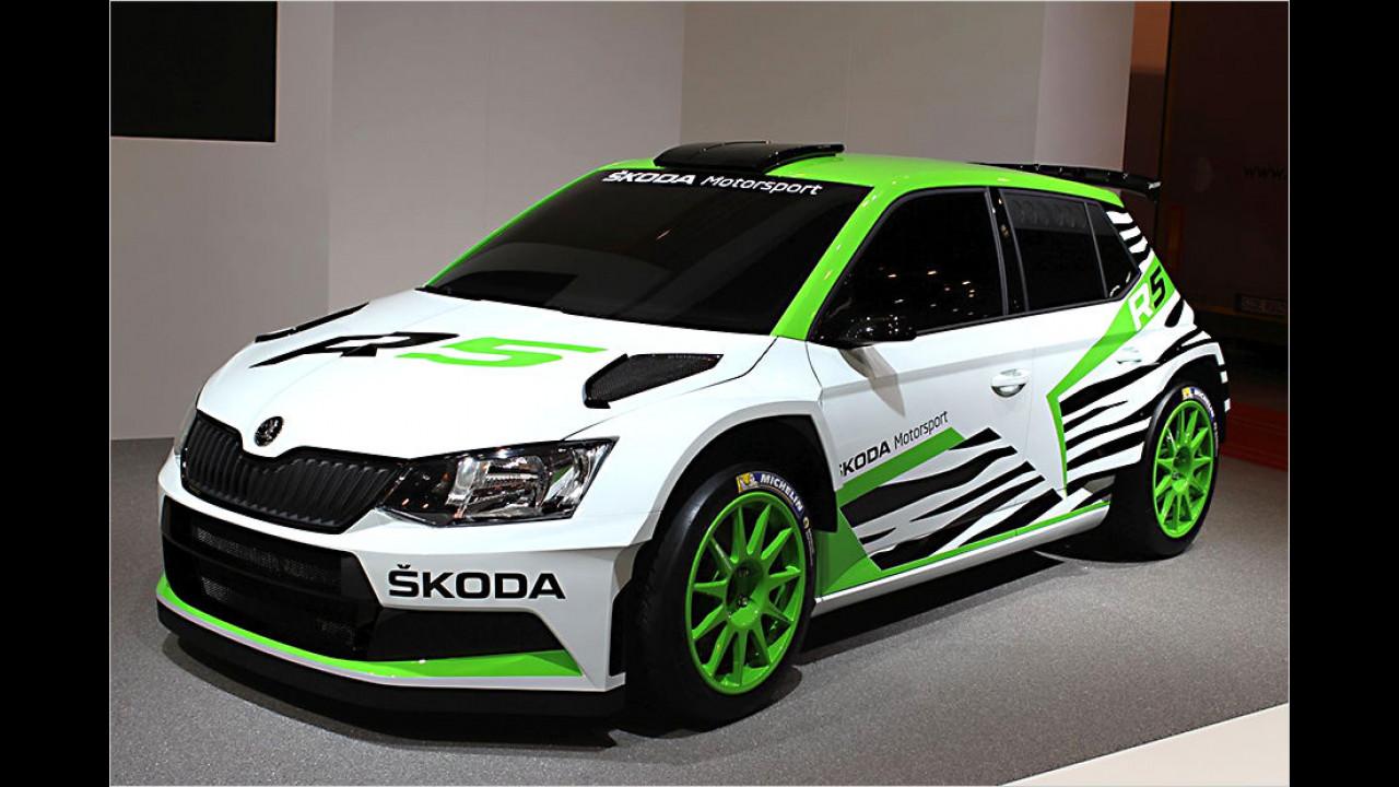 Skoda Fabia R5 Concept Car