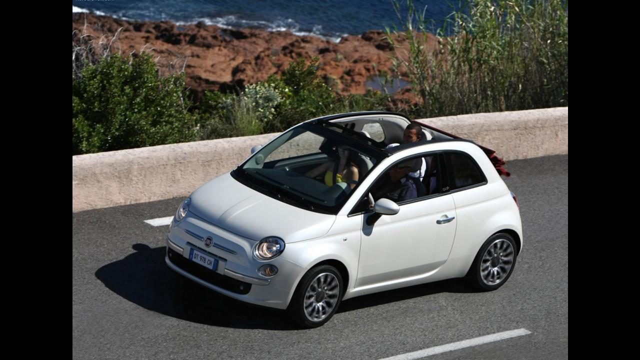 Conversível em breve: Fiat já se prepara para lançar 500C no Brasil