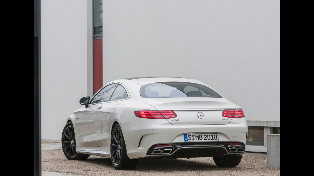 Mercedes revela o S63 AMG Coupe 2015 com motor V8 biturbo de 585 cv