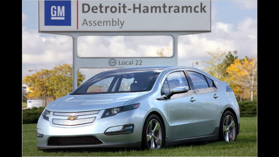 US-Präsident Barack Obama fährt Chevrolet Volt