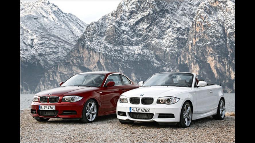 BMW liftet den 1er und bringt ein M-Sportpaket für den X3