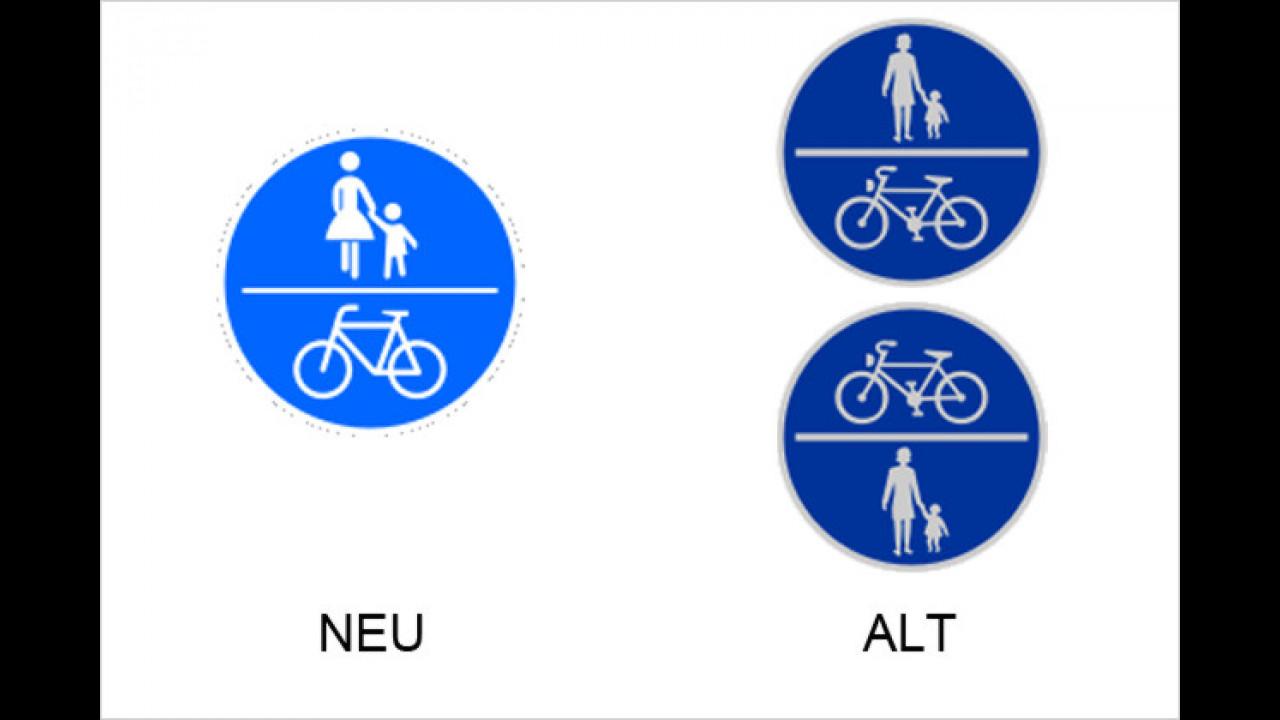 Gemeinsamer Fuß- und Radweg