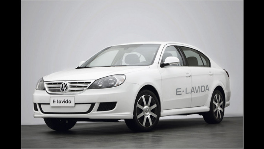 VW zeigt Elektro-Lavida für China
