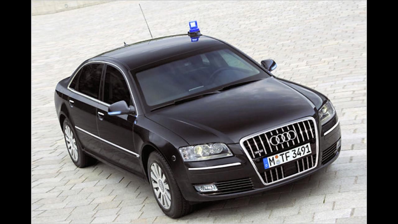 Audi A8 W12 Security