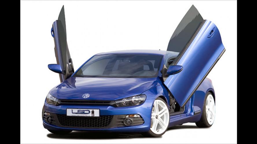 Scirocco-Insekt: Scherentüren für den VW