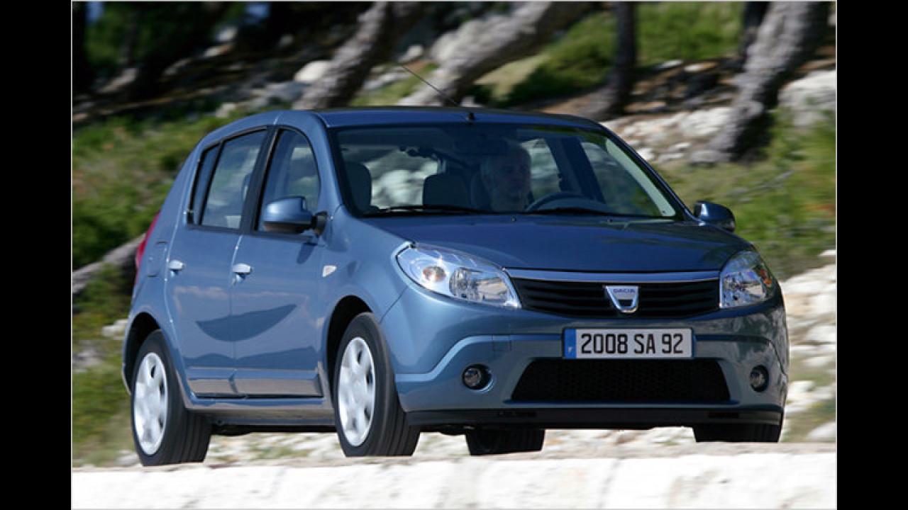 Das günstigste Serienfahrzeug Deutschlands: Dacia Sandero 1.4