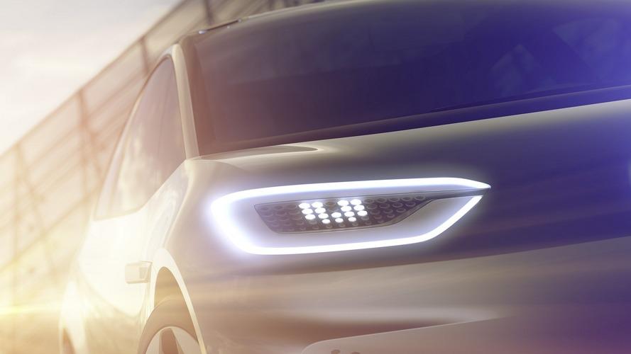 VW, Paris'te tanıtacağı EV konseptinin teaser'ını yayınladı