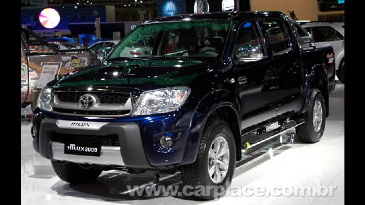 Salão do Automóvel 2008 - Toyota mostra linha 2009 da Hilux e SW4