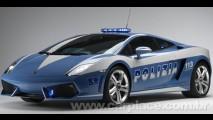 Polícia da Itália ganha nova viatura - Um Lamborghini Gallardo de 560 cavalos!!