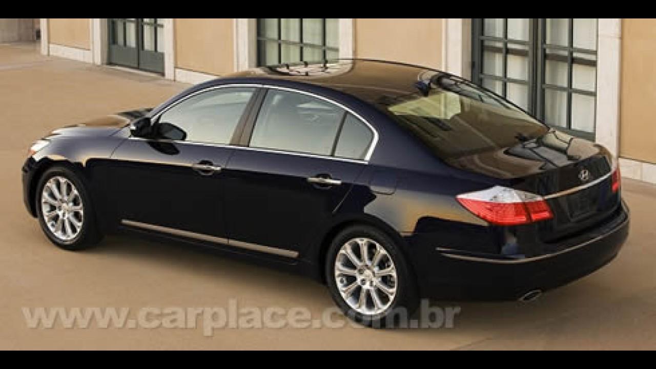 De Detroit Hyundai Apresenta Sedan De Luxo Genesis