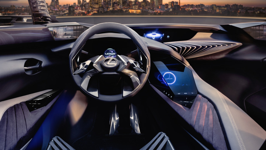 Lexus UX Concept interior revealed with holographic 3D experience
