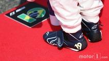 Felipe Massa (BRA) Williams as the grid observes the national anthem