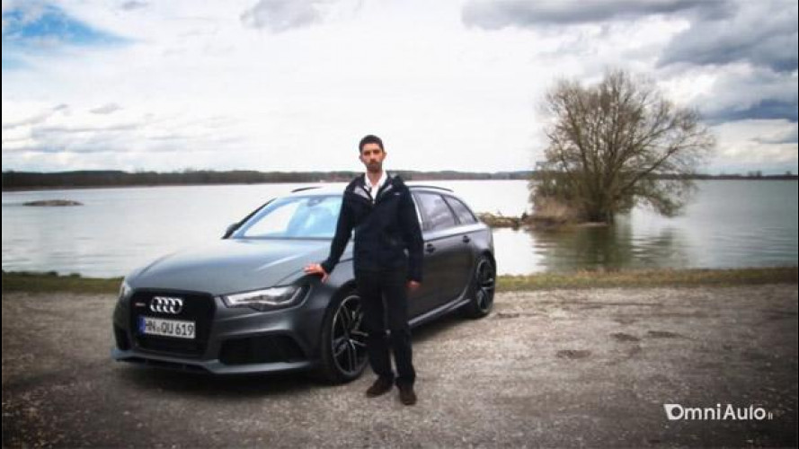 Nuova Audi RS 6 Avant, una bestia di station wagon [VIDEO]