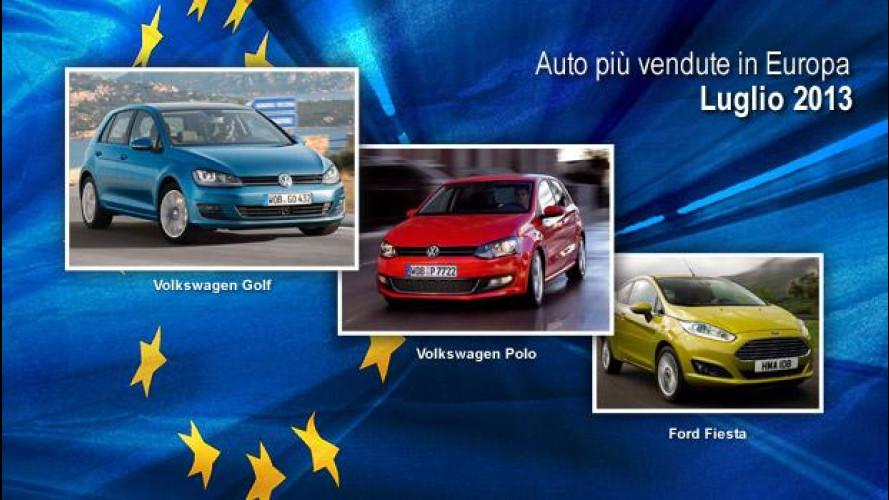 Le auto più vendute in Europa, la classifica di luglio 2013