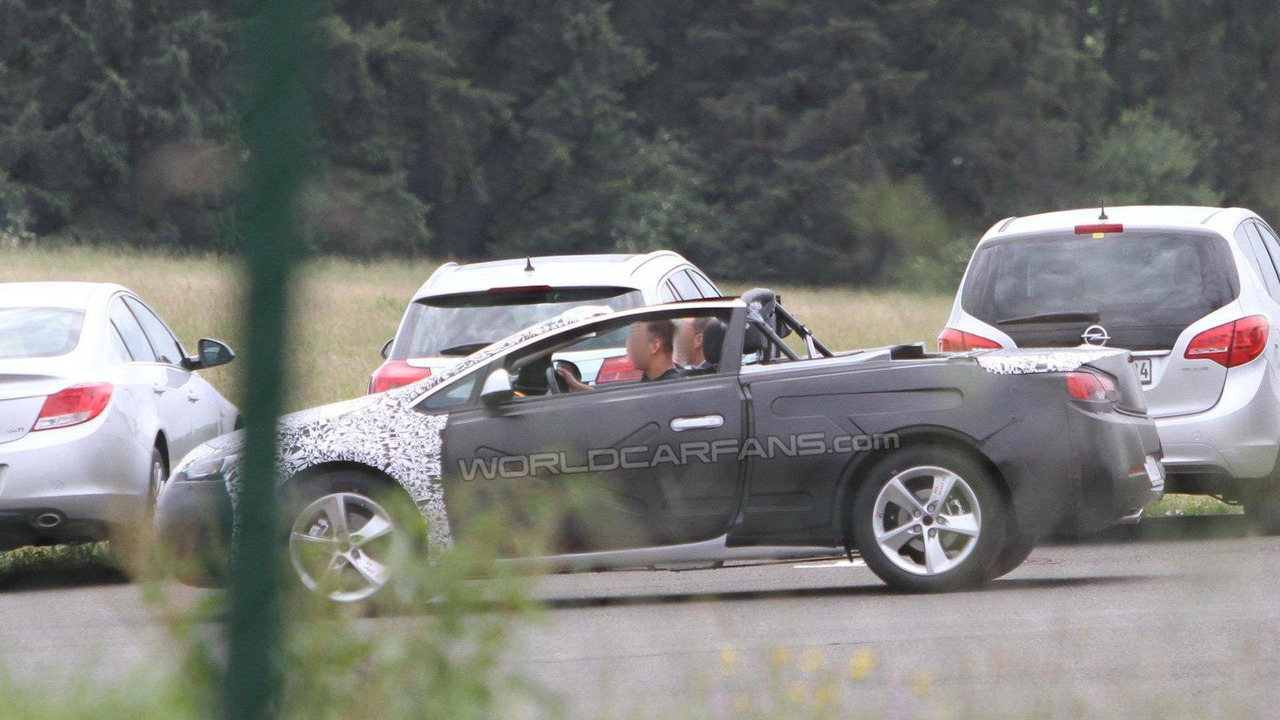 2013 Opel Astra Cabriolet spied 13.06.2011