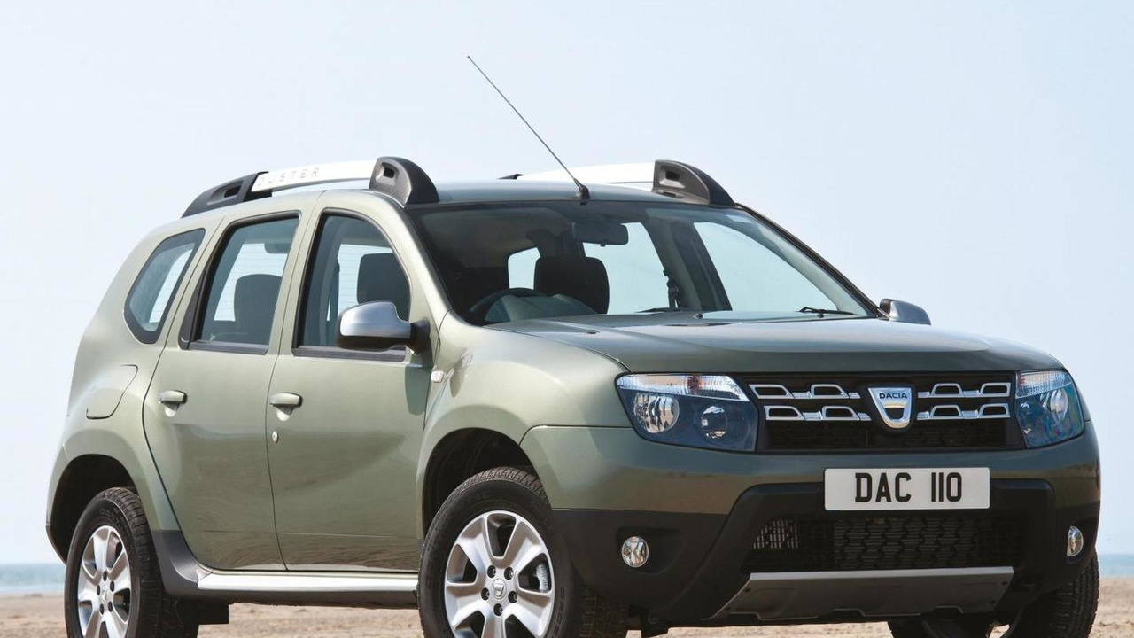 Dacia Duster with 1.6-liter 16V petrol engine (Euro 6)