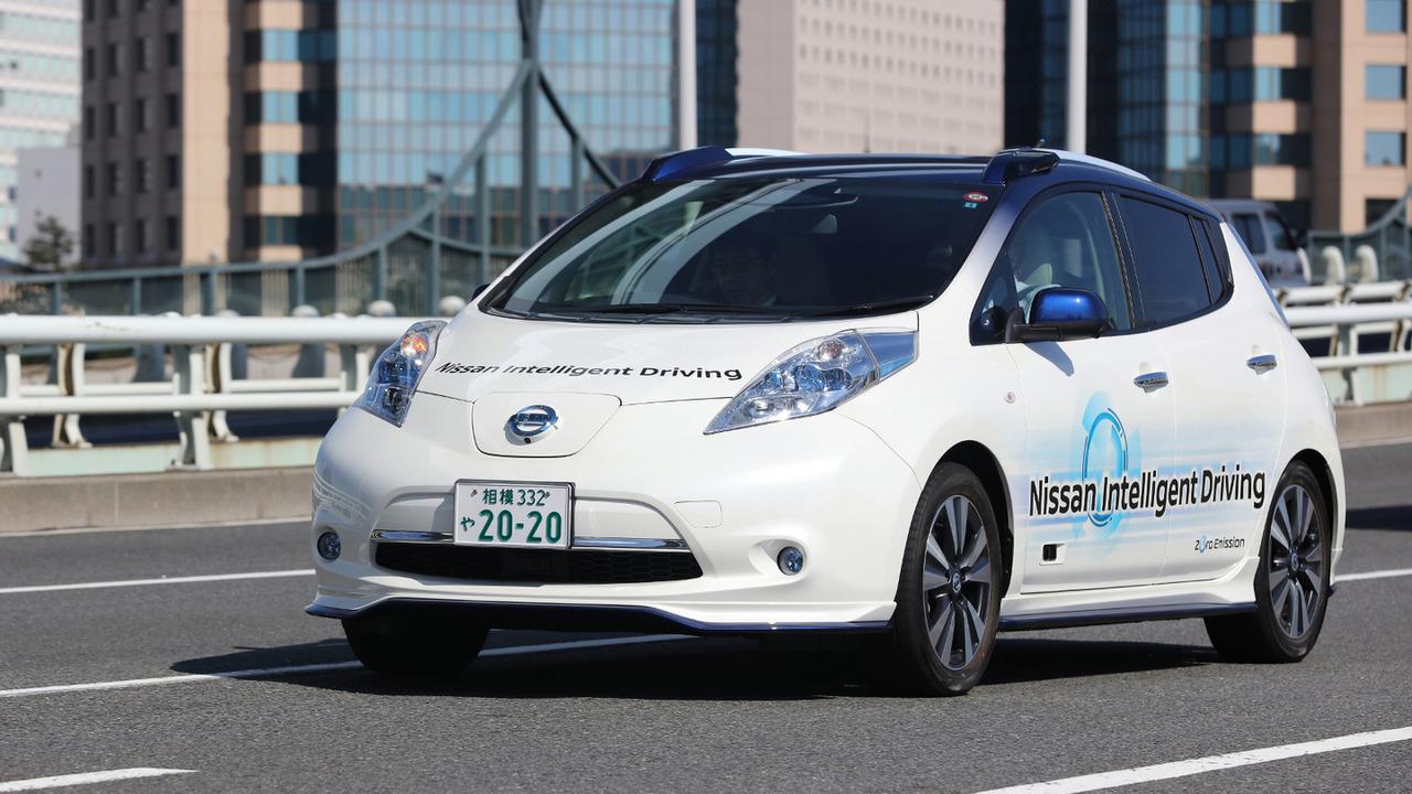 Nissan Leaf Intelligent Driving prototype