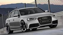 2013 Audi RS4 Avant artist rendering