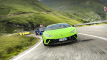 Lamborghini Huracan por el paso de  Transfagarasan