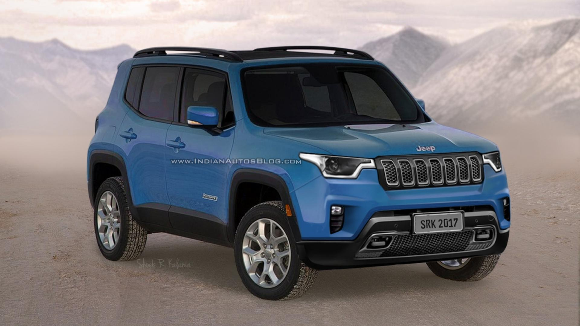 Jeep Renegade Lifted >> Will The Next Jeep Renegade Look Like This?