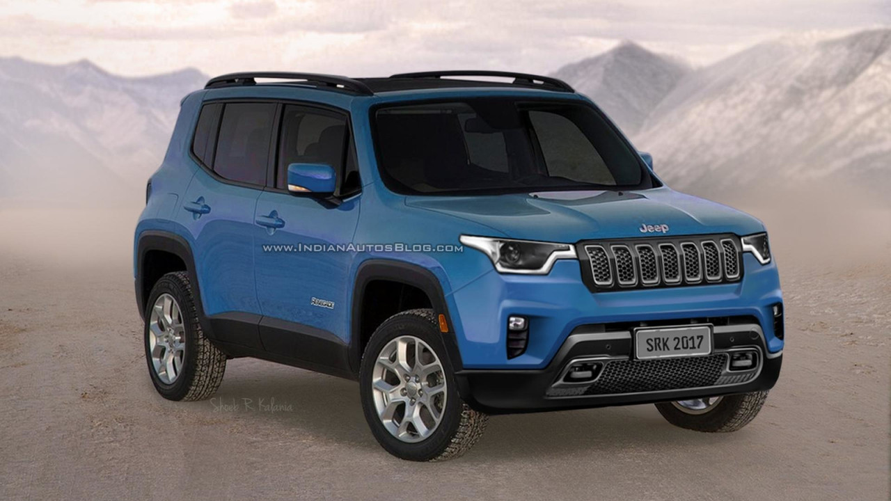 New Jeep Renegade >> Will The Next Jeep Renegade Look Like This?