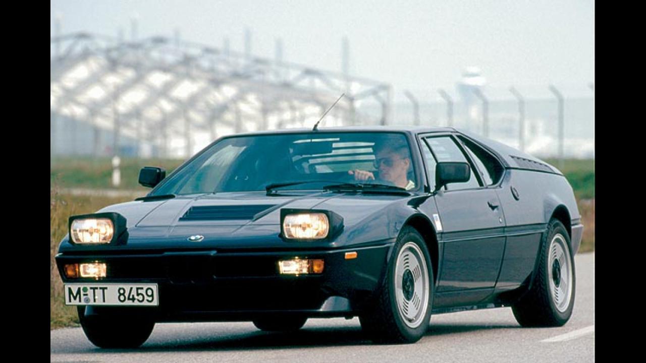 Sportwagen-Ikonen aus den 70er-Jahren - BMW M1