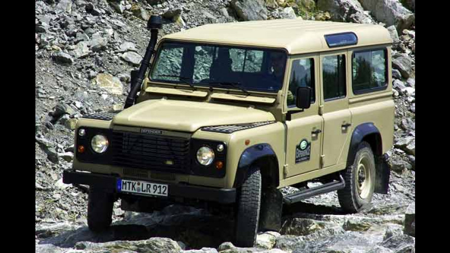 Land Rover Defender: Die Abenteuer-Edition Experience
