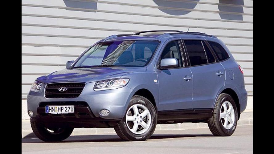 Neuer Hyundai Santa Fe im Test: Höher geklettert